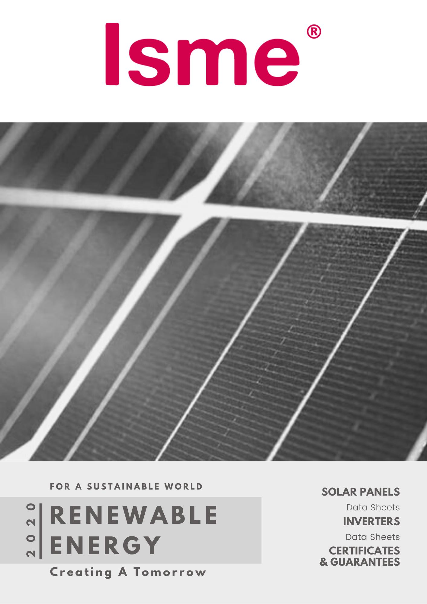 Isme renewable energy